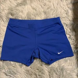 NIKE team fitdry workout shorts!